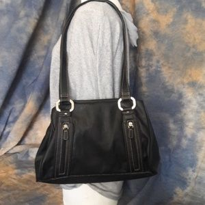 Rosetti black purse, with lots of room.